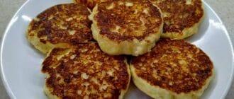 сырные оладушки