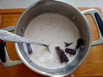 шоколад в молоко