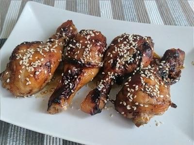 куриные ножки по корейски