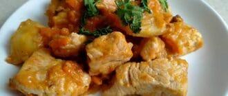 жаренный картофель с мясом