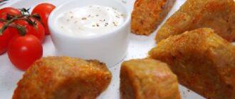 картофельные треугольники с сыром
